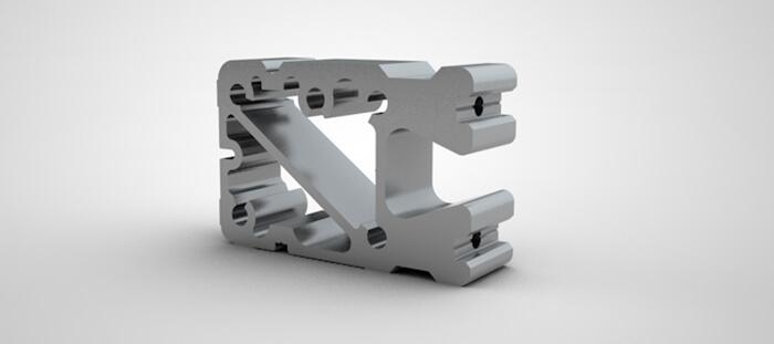 Riegelverbinder Aluminium