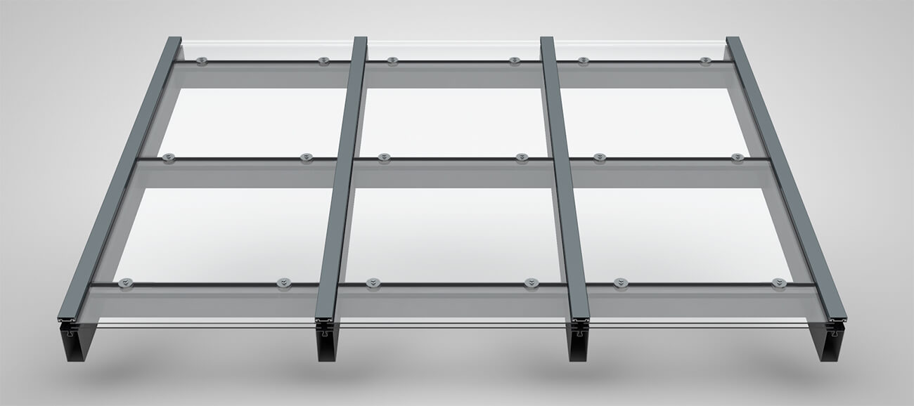 pfosten riegel fassade glasdach stabalux. Black Bedroom Furniture Sets. Home Design Ideas
