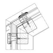 Dachanschluss mit Deckleiste