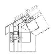 Dachanschluss mit Stufenglas
