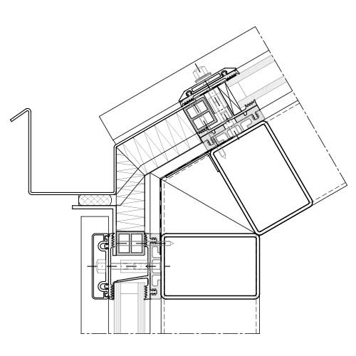 Curtain-wall and roof-glazing systems steel | STABALUX ZL-S