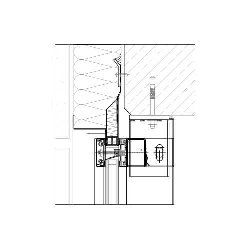 Glasfassade detail bodenanschluss  Pfosten-Riegel-System | Aufsatzsystem | STABALUX AK-S