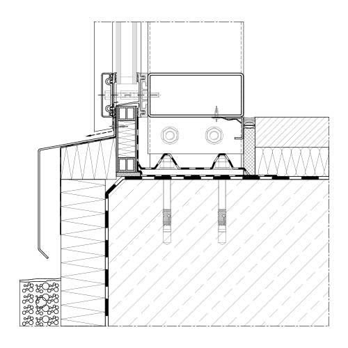 Glasfassade detail bodenanschluss  Pfosten-Riegel-System | Aufsatzsystem | STABALUX ZL-S