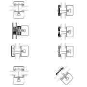 Sections transversales du système